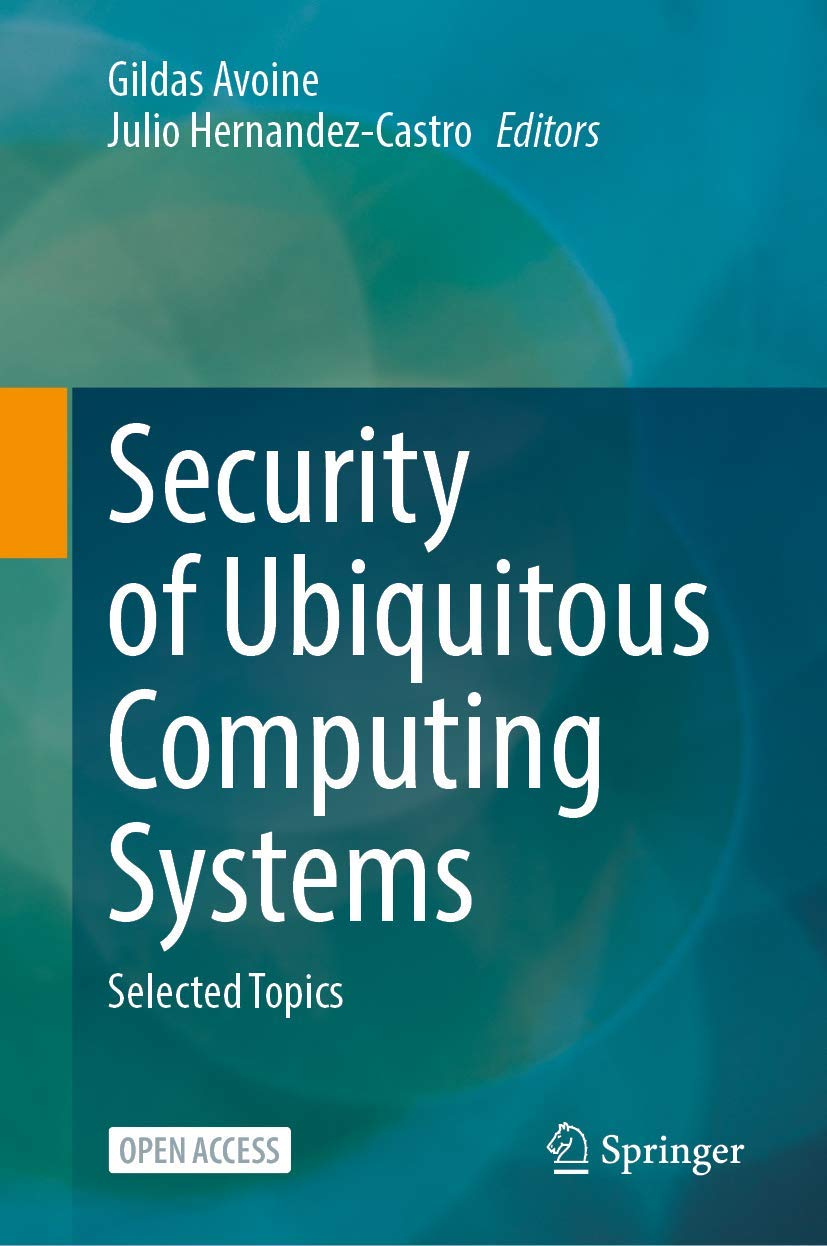 Book: Security of Ubiquitous Computing Systems